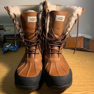 Women Front Lace Up Ugg Boots On Poshmark